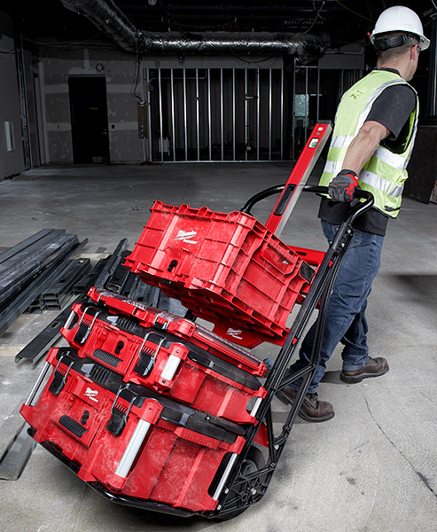 Milwaukee Packout Tool Box Cart Setup