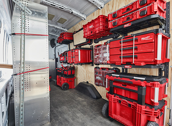 Milwaukee Packout Tool Box Wall Setup