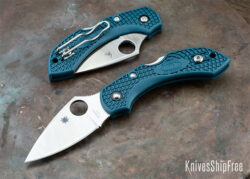 Spyderco Dragonfly K390 Bluee Handle KnivesShipFree