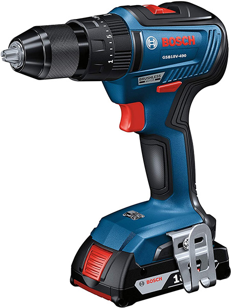 Bosch Brushless Hammer Drill GSB18V-490B12 Special But with Battery