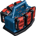 Bosch GAL18V6-80 6-Port 18V Battery Charger with Li-ion Batteries