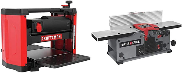 Craftsman Planer and Porter Cable Jointer
