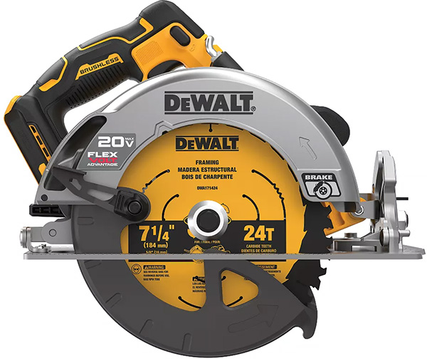 Dewalt 20V Max FlexVolt Advantage Brushless Circular Saw
