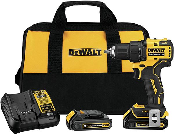 Dewalt DCD708C2 20V Max Atomic Cordless Drill Kit