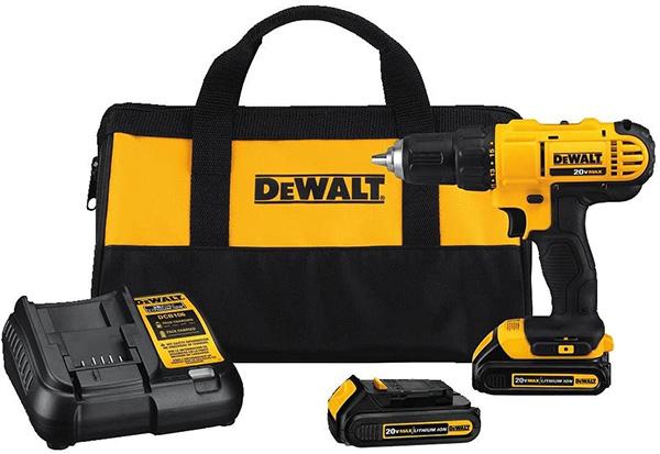 Dewalt DCD771C2 Cordless Drill Kit Deal