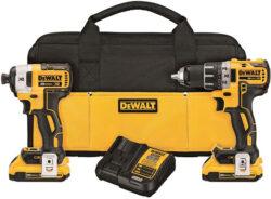 Dewalt DCK283D2 Cordless Drill and Impact Driver Combo Kit