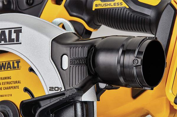 Dewalt DCS565B Brushless Circular Saw Dust Port