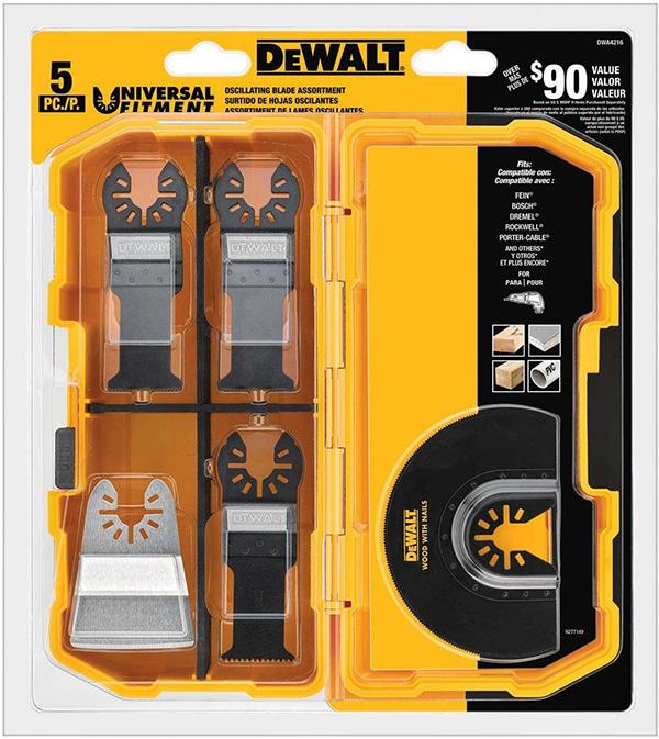 Dewalt DWA4216 Osscillating Multi-Tool Set