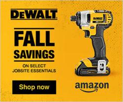Dewalt Fall Essentials Tool Deals at Amazon