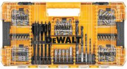 Dewalt MaxFit 160pc Screwdriver Bit Set and Large ToughCase Organizer