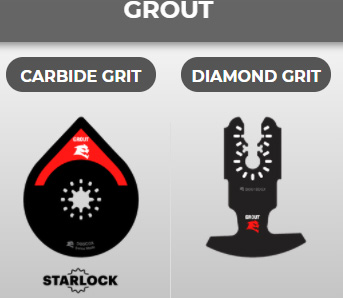 Diablo Oscillating Multi-Tool Blades for Grout