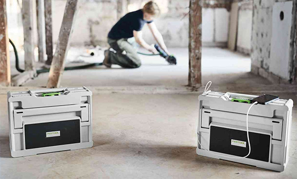 Festool TopRock Systainer Bluetooth Speaker Stereo Pair