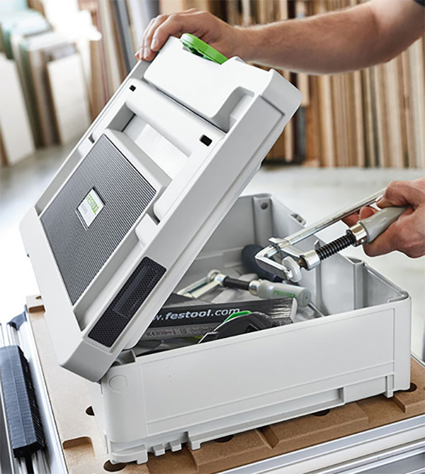 Festool TopRock Systainer Bluetooth Speaker Tool Storage
