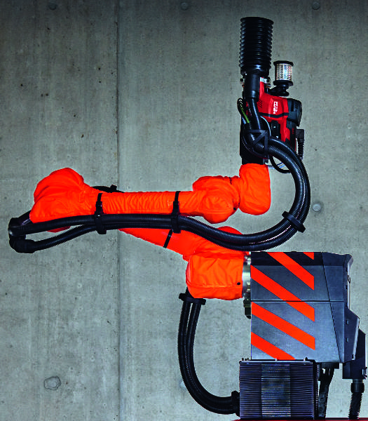 Hilti Jaibot Arm Closeup Brightened