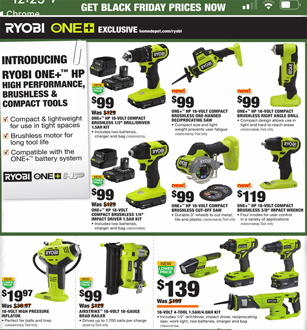Home Depot Black Friday 2020 Tool Deals Page 11