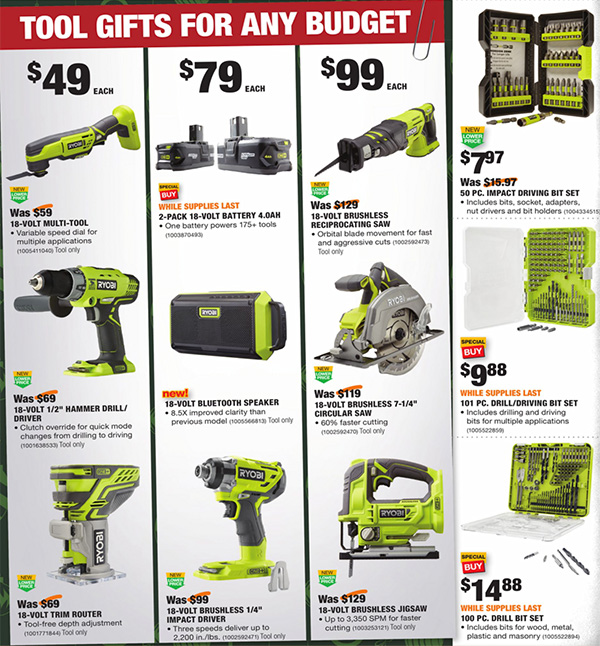 Home Depot Black Friday 2020 Tool Deals Page 12