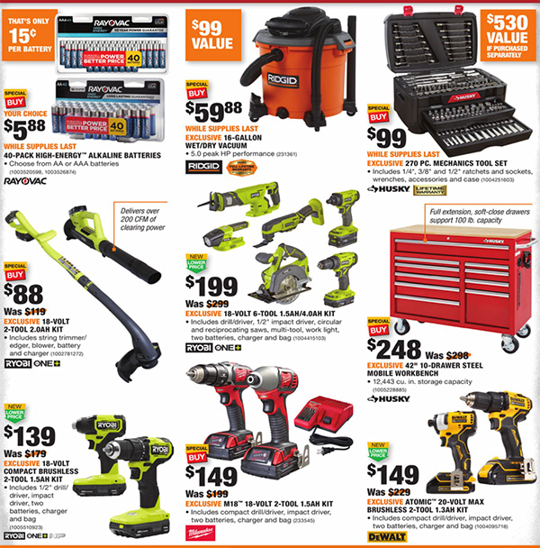 Home Depot Black Friday 2020 Tool Deals Page 2