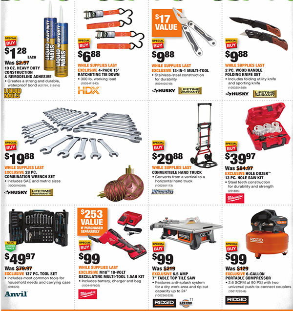 Black Friday Tool Chest 2020 Tool Storage Tools The Home Depot