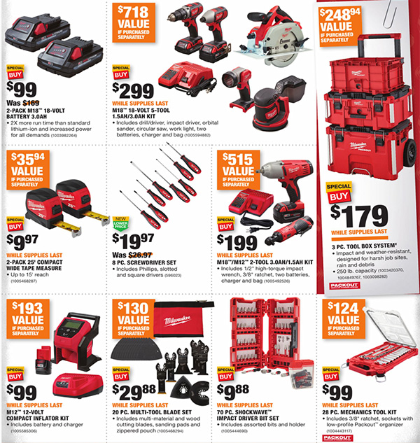 Home Depot Black Friday 2020 Tool Deals Page 6