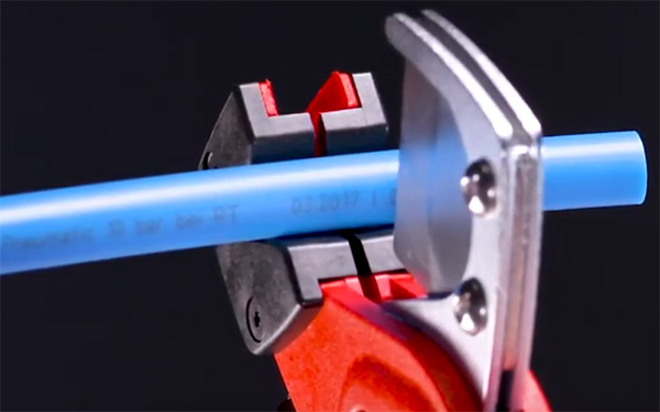 Knipex Tubing Cutters used on Soft Hose