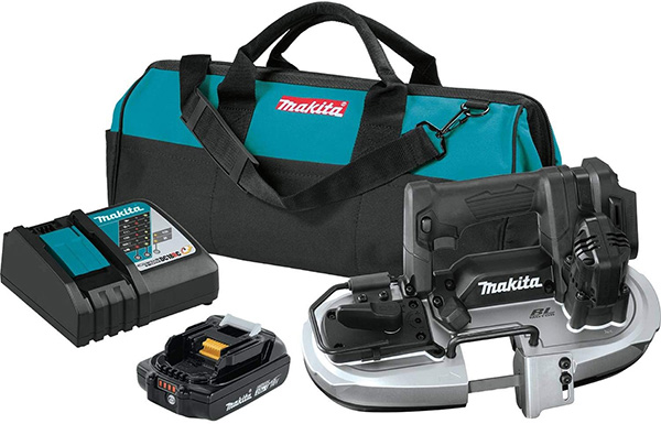 Makita XBP05R1B Cordless Band Saw Kit