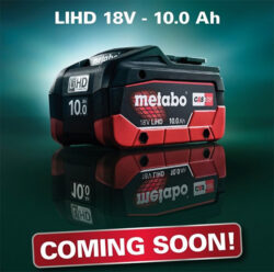 Metabo 18V Compact 10Ah Battery