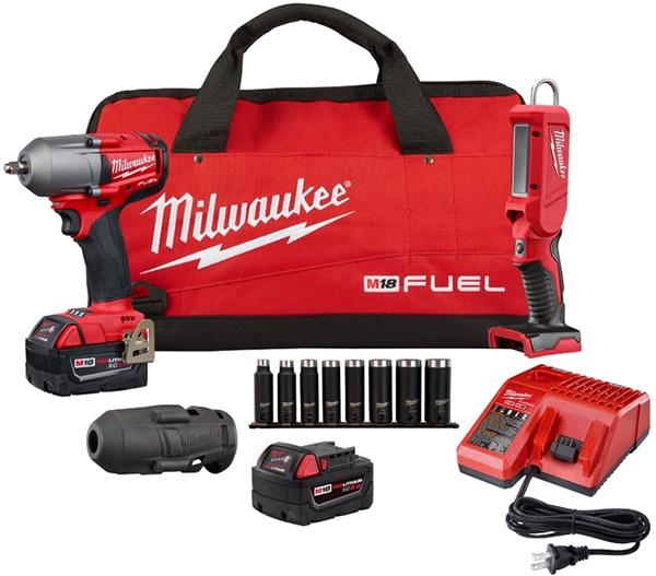 Milwaukee 2852-22L Automotive Tool Bundle Deal