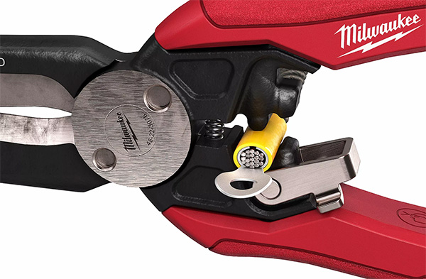 Milwaukee 7-in-1 High Leverage Electrical Pliers Crimping Anvils