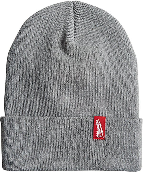 Milwaukee Grey Beanie Winter Hat