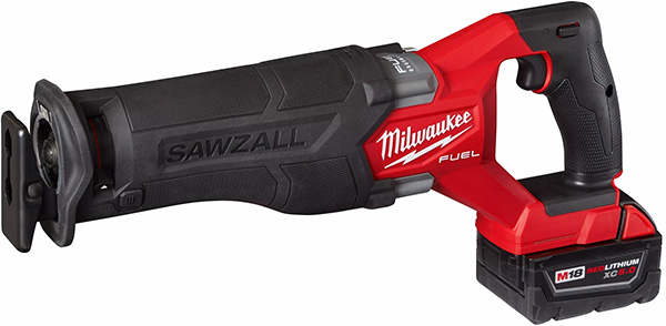 Milwaukee M18 Fuel Cordless Sawzall 2821-22