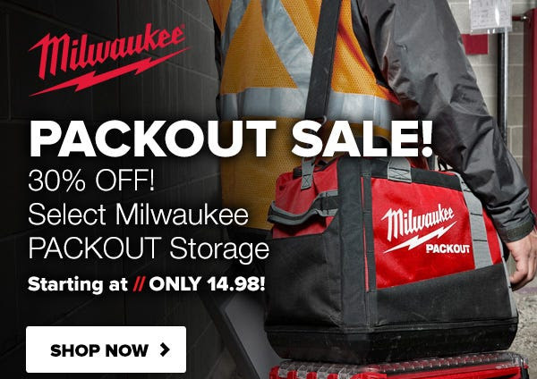 Milwaukee Packout Tool Bag Deals Tool Nut 10-1-2020