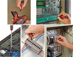 Milwaukee Tool 10pc Precision Screwdriver Set 48-22-2612 Applications