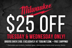 Milwaukee Tool Flash Sale 10-20-2020