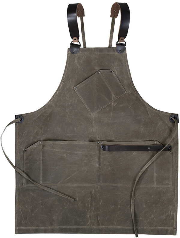 New Waterfield Workshop Apron Brown Canvas