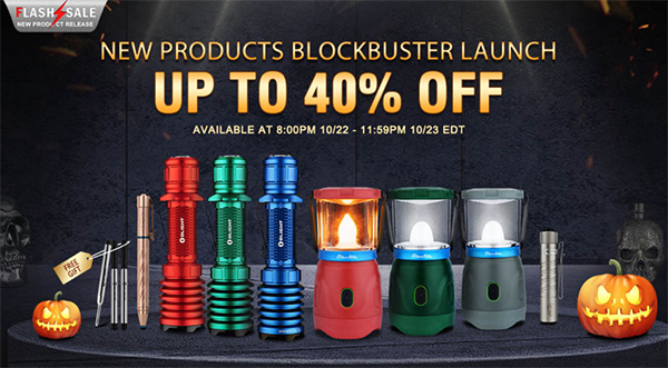 Olight LED Flashlight Flash Sale 10-2020