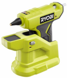 Ryobi 18V One+ Compact Glue Gun on Heating Base Larger Image