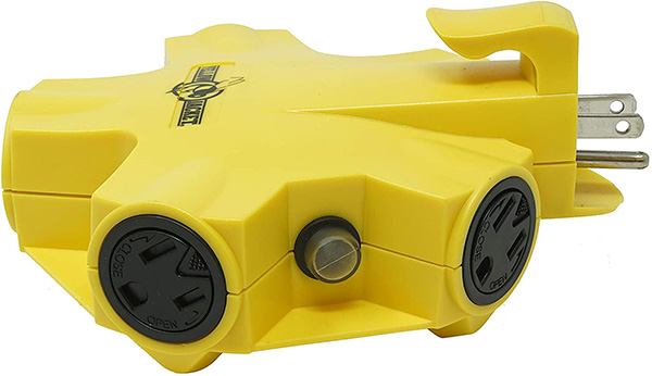 Yellow Jacket 5 Outlet Adapter