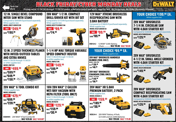 Acme Tools Black Friday 2020 Tool Deals Page 4
