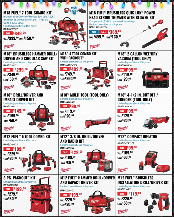 Acme Tools Early Black Friday 2020 Tool Deals Page 2