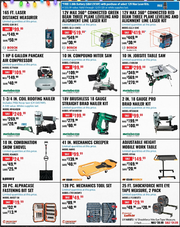 Acme Tools Early Black Friday 2020 Tool Deals Page 4