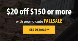 Acme Tools Fall 2020 Coupon Code on Dewalt Tools