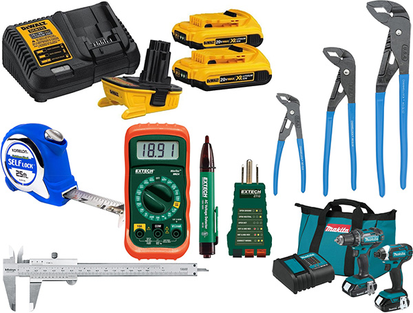 Amazon Early Black Friday Tool Deals 11-19-2020 Montage