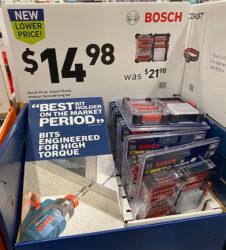 Bosch Black Friday Screwdriver Bit Set Deal Black Friday 2020