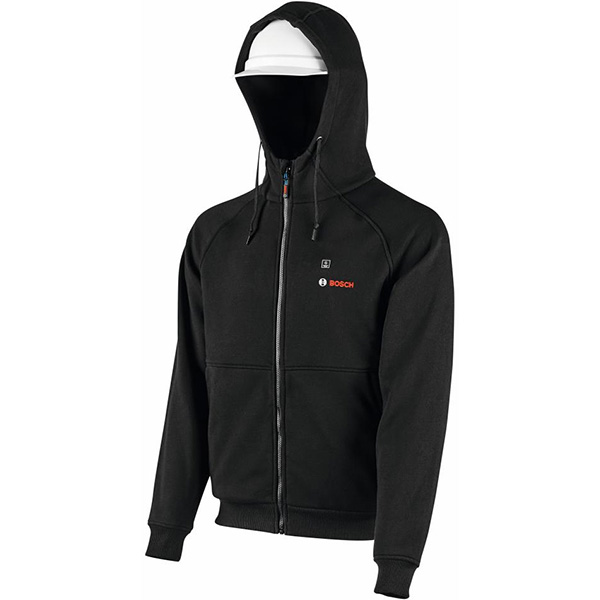Bosch Heated Hoodie 2020 with Hood up