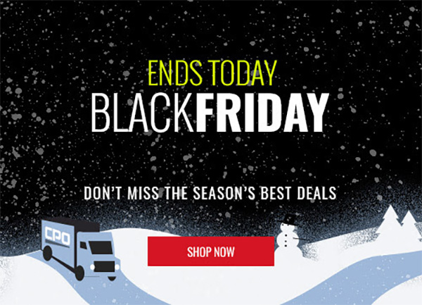 CPO Black Friday Weekend Tool Deals 2020