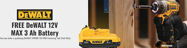 CPO Dewalt Xtreme 12V Black Friday Deal 2020