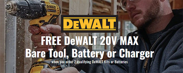 CPO Tools Dewalt Battery Promo Holiday 2020
