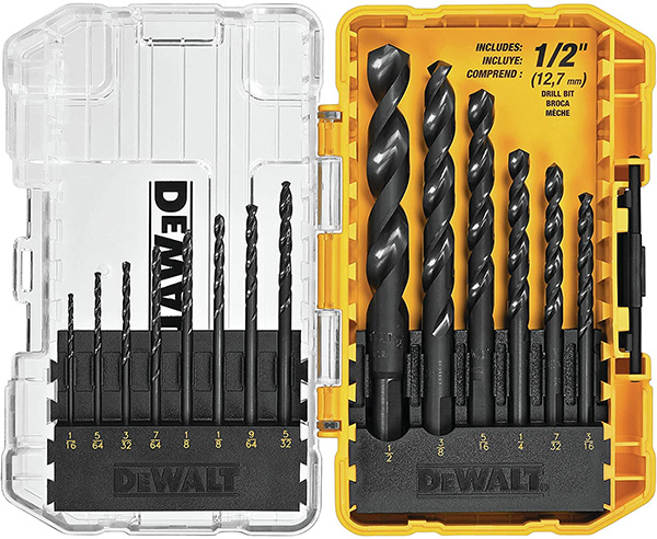 Dewalt 14pc Drill Bit Set Black Oxide
