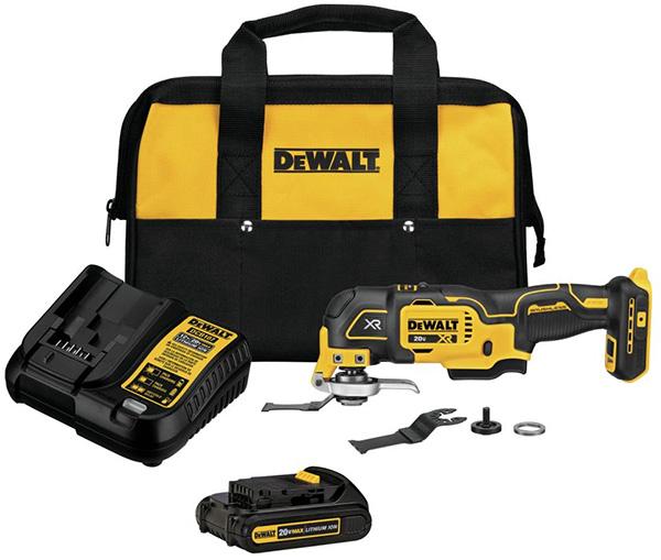 Dewalt 20V MAX XR 3-Speed Cordless Oscillating Multi-Tool Kit DCS356C1
