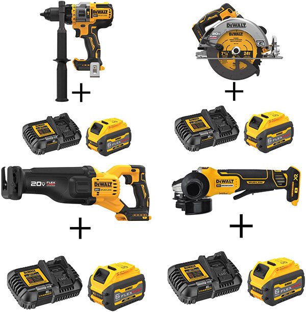Dewalt 20V Max FlexVolt Advantage and Starter Set Deals Home Depot Black Friday 2020